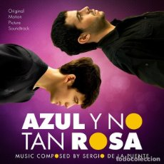 CDs de Música: AZUL Y NO TAN ROSA / SERGIO DE LA PUENTE CD BSO. Lote 228216650