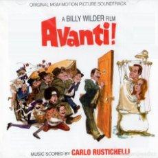 CDs de Música: CARLO RUSTICHELLI – AVANTI! (ORIGINAL MGM MOTION PICTURE SOUNDTRACK) - LIMITED EDITION. Lote 224028205