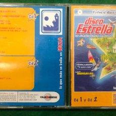 CDs de Musique: DISCO ESTRELLA VOL. 5 / DOBLE CD DE 2002 RF-8747. Lote 228278810