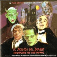 CDs de Música: EL AULLIDO DEL DIABLO - FERNANDO GARCÍA MORCILLO. Lote 223990265