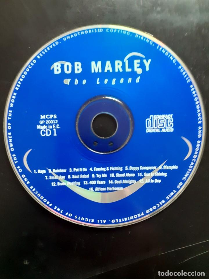 BOB MARLEY THE LEGEND CD 1 SIN CAJA 16 TRACKS (Música - CD's Reggae)