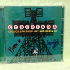 CDs de Música: AVIADOR DRO 4000 / LIVE AUDIODATA CD - CYBERIADA / ALBUM CD AUTOGRAFIADO 1991. NM-NM. Lote 228320435