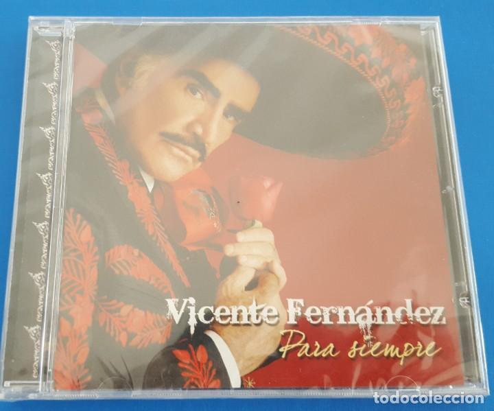 CD / VICENTE FERNANDEZ / PARA SIEMPRE / NUEVO Y PRECINTADO (Música - CD's Latina)
