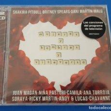 CDs de Música: CD DOBLE 2 CD'S / MUJERES Y HOMBRES Y VICEVERSA / NUEVO Y PRECINTADO. Lote 228367975