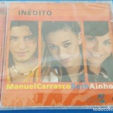 CDs de Música: CD / OPERACION TRIUNFO - INEDITO / MANUEL CARRASCO - BETH - AINHOA / NUEVO Y PRECINTADO. Lote 228369590