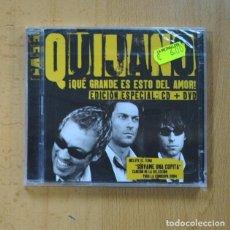 CDs de Música: CAFE QUIJANO - QUE GRANDE ES ESTO DEL AMOR - CD + DVD. Lote 228398560