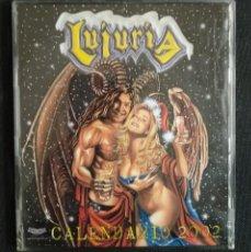 CDs de Música: LUJURIA - VILLANCISCO (CALENDARIO 2002) - CD SINGLE PROMO 2001 MUY DIFICIL, COMO NUEVO. Lote 228436640