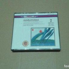CDs de Música: JOHN WILLIAMS - GUITAR CONCERTOS DOBLE CD BOX. Lote 228464175