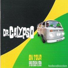 CDs de Música: DR. CALYPSO – ON TOUR. SALA BIKINI - BCN 14-09-2000 - CD NUEVO. Lote 228467835