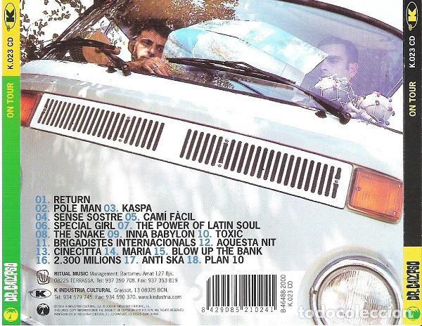 CDs de Música: Dr. Calypso – On Tour. Sala Bikini - BCN 14-09-2000 - cd nuevo - Foto 2 - 228467835
