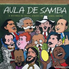 CDs de Música: AULA DE SAMBA - NUEVO Y PRECINTADO. Lote 228479392