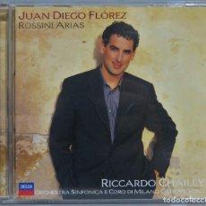 CDs de Música: CD. JUAN DIEGO FLOREZ. ROSSINI ARIAS. Lote 228507960