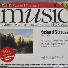 CDs de Música: CD. STRAUSS. MUSIC. BBC. Lote 228508025