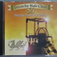 CDs de Música: CD. TREORCHY MALE CHOIR. FIFTY GOLDEN YEARS OF SONG. Lote 228508150