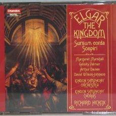 CDs de Música: CD. ELGAR. THE KINGDOM. SURSUM EORDA SOSPIRI. Lote 228508235