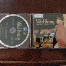 CDs de Música: CD PROMOCIONAL EMISORA DE RADIO - SINGLE - MIKEL HERZOG QUE VOY A HACER SIN TI EUROVISION 1998 ESPA. Lote 228508775