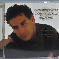 CDs de Música: CD. JUAN DIEGO FLOREZ. UNA FURTIVA LAGRIMA. Lote 228509000