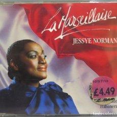 CDs de Música: CD. JESSYE NORMAN. LA MARSEILLAISE. Lote 228509080
