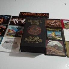 CDs de Música: GRATEFUL DEAD BEYON DESCRIPTION 1973 1989 10 X CD BOX COMPLETO Y NUEVO. Lote 228509846