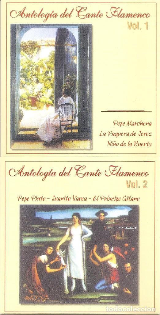 CDs de Música: ANTOLOGIA DEL CANTE FLAMENCO - VARIOS (BOX SET CON 10 CDS, EDICION ESPECIAL MOVIE MUSIC, VER FOTOS) - Foto 3 - 228515070
