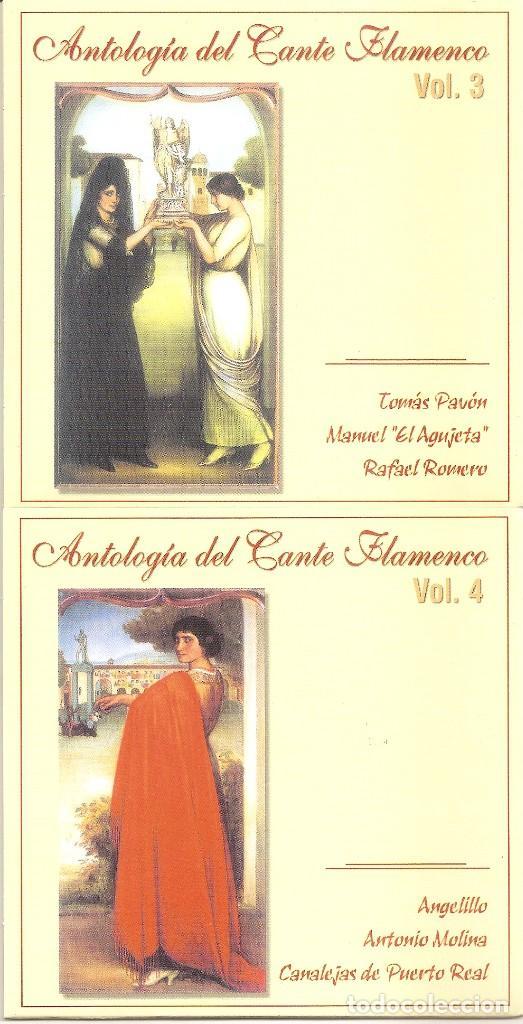 CDs de Música: ANTOLOGIA DEL CANTE FLAMENCO - VARIOS (BOX SET CON 10 CDS, EDICION ESPECIAL MOVIE MUSIC, VER FOTOS) - Foto 4 - 228515070