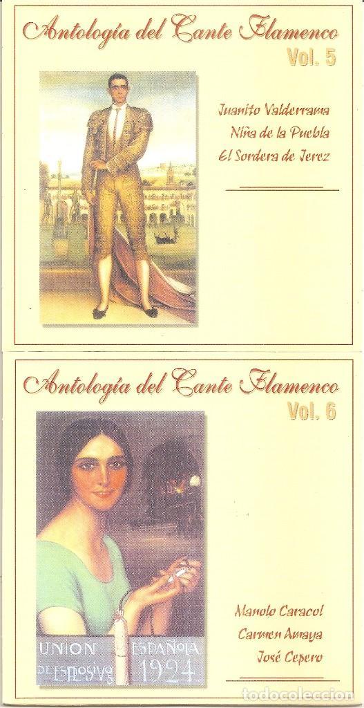 CDs de Música: ANTOLOGIA DEL CANTE FLAMENCO - VARIOS (BOX SET CON 10 CDS, EDICION ESPECIAL MOVIE MUSIC, VER FOTOS) - Foto 5 - 228515070