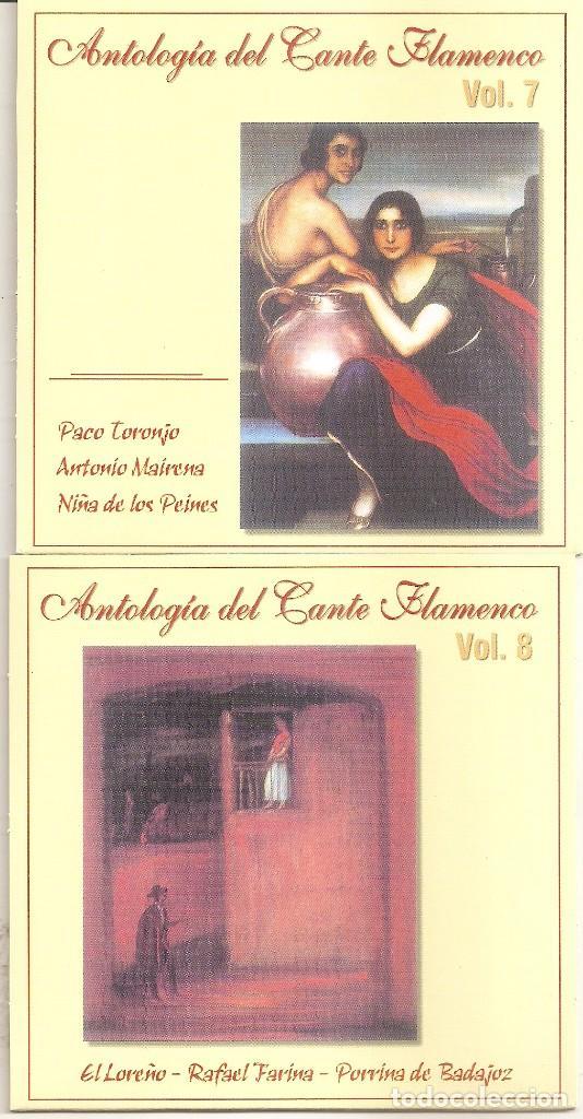 CDs de Música: ANTOLOGIA DEL CANTE FLAMENCO - VARIOS (BOX SET CON 10 CDS, EDICION ESPECIAL MOVIE MUSIC, VER FOTOS) - Foto 6 - 228515070