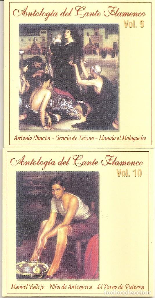 CDs de Música: ANTOLOGIA DEL CANTE FLAMENCO - VARIOS (BOX SET CON 10 CDS, EDICION ESPECIAL MOVIE MUSIC, VER FOTOS) - Foto 7 - 228515070