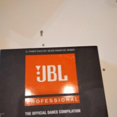 CDs de Música: G-59 CD MUSICA 3 X CD ALBUM (TRIPLE CD) / JBL PROFESSIONAL / THE OFFICIAL DANCE COMPILATION. Lote 228515835