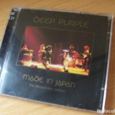 CDs de Música: DEEP PURPLE, MADE IN JAPAN. THE REMASTERED EDITION -DOBLE CD. Lote 228519665