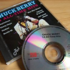 CDs de Música: CHUCK BERRY 14 ALL TIME HITS -CD WOODFORD MUSIC 1990. Lote 228519730