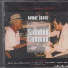 CDs de Música: JAVIER GRASS CD SALUDOS COMPAY 2005 HOMENAJE A COMPAY SEGUNDO CON ELIADES OCHOA CHUCHO VALDÉS. Lote 228520715