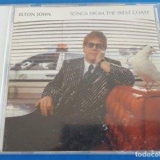 CDs de Música: CD / ELTON JOHN – SONGS FROM THE WEST COAST / MERCURY – 586 330-2, THE ROCKET RECORD COMPANY 2001. Lote 228521010
