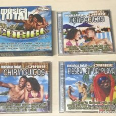 CDs de Música: 3 CD'S MUSICA TOTAL EN EL CARIBE. Lote 228521180