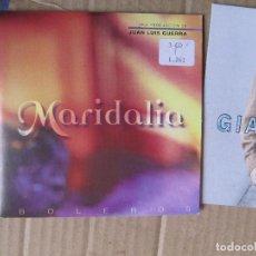CDs de Música: MARIDALIA HERNANDEZ – BOLEROS 2 CANCIONES-CD SINGLE PROMO. Lote 228522335
