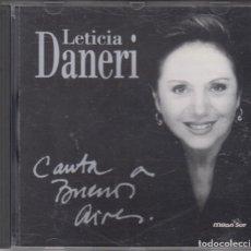 CDs de Música: LETICIA DANERI CD CANTA A BUENOS AIRES 1995. Lote 228522885