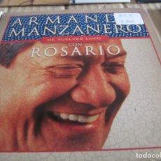CDs de Música: ARMANDO MANZANERO CON ROSARIO / ME VUELVES LOCO (CD SINGLE CARTON 2002). Lote 228523355