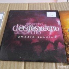 CDs de Música: AMPARO SANDINO PROMO CD SINGLE EL DESPECHO. Lote 228523885