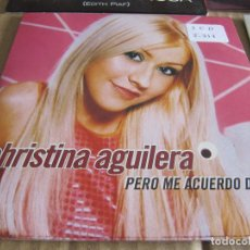CDs de Música: CHRISTINA AGUILERA. PERO ME ACUERDO DE TI (CD SINGLE 2000). Lote 228523926