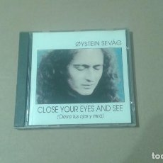 CD di Musica: OYSTEIN SEVAG - CLOSE YOUR EYES AND SEE ( CIERRA TUS OJOS Y MIRA ) CD 1992. Lote 249182840