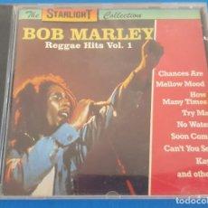 CDs de Música: CD / BOB MARLEY / REGGAE HITS VOL. 1 / THE STARLIGHT COLLECTION. Lote 228587490