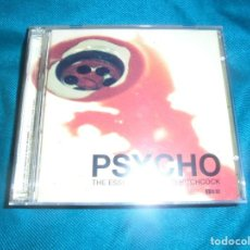 CDs de Música: PSYCHO. THE ESSENTIAL ALFRED HITCHCOCK. BSO. 2 CD´S . IMPECABLE (#). Lote 228622292
