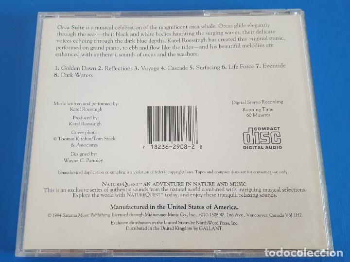 CDs de Música: CD / Karel Roessingh – Orca Suite / Nature Quest – NSCD 29082 1988 USA - Foto 2 - 228634625