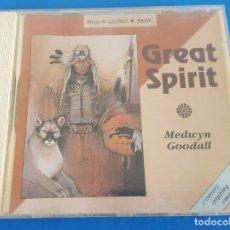 CDs de Música: CD / MEDWYN GOODALL / GREAT SPIRIT / NEW WORLD MUSIC – NWCD 240 1990 UK. Lote 228635835