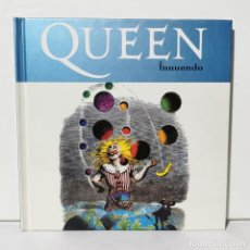 CDs de Música: QUEEN - INNUENDO - LIBRETO + CD - EDICIONES PRIMERA PLANA - 2008. Lote 228693970