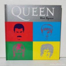 CDs de Música: QUEEN - HOT SPACE - LIBRETO + CD - EDICIONES PRIMERA PLANA - 2008. Lote 228694035