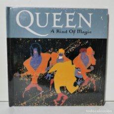 CDs de Música: QUEEN - A KIND OF MAGIC - LIBRETO + CD - EDICIONES PRIMERA PLANA - 2008. Lote 228694110