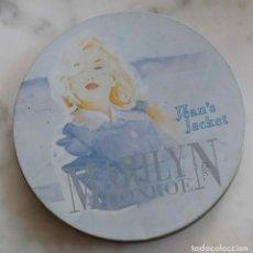 CDs de Música: MARILYN MONROE, JEAN'S JACKET. CD EN CAJA METÁLICA REDONDA. Lote 228719800
