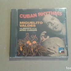 CDs de Música: MIGUELITO VALDES WITH MACHITO AND HIS AFRO CUBANS . CUBAN RHYTHMS CD 1992. Lote 228758575