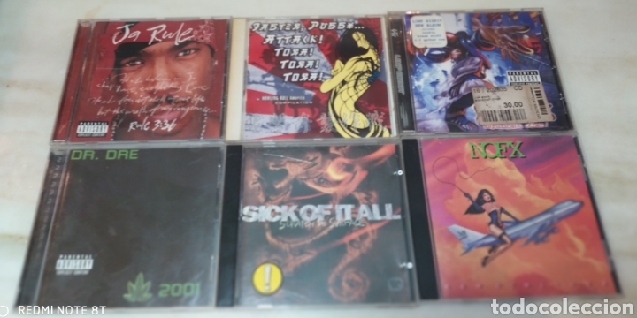 LOTE 16 CDS HIP HOP, RAP... (Música - CD's Hip hop)